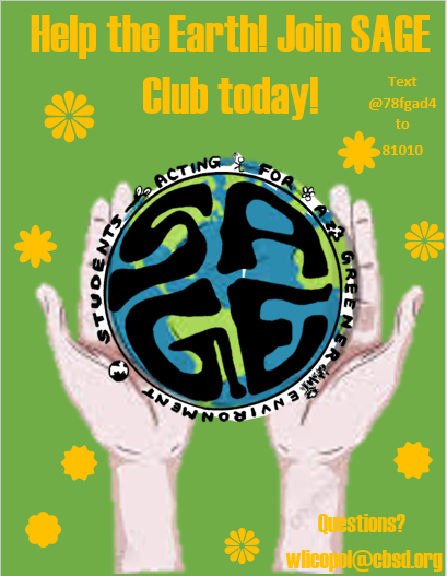 Club Dispatch: SAGE Environmental Club