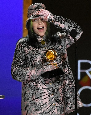 Billie Eilish Wins Record of the Year at 2021 Grammys | PEOPLE.com