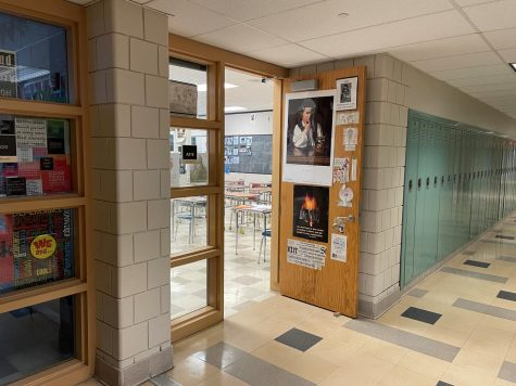 The entrance to Mr. Weaver