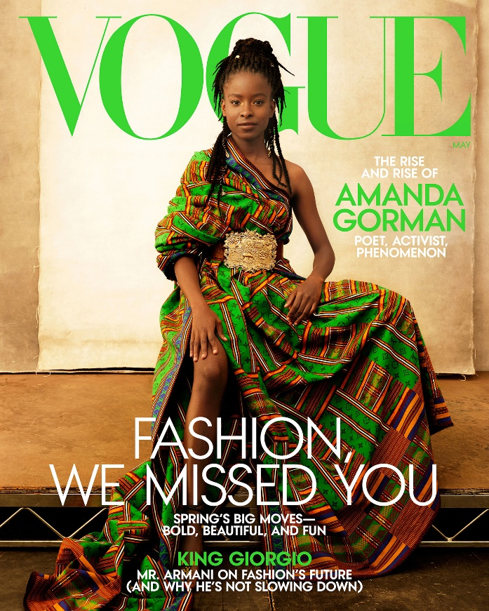 Poet Amanda Gorman is featured on the cover of Vogue - CNN Style